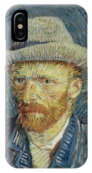 Self-portrait With Grey Felt Hat IPhone Case