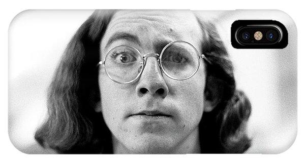 Self-portrait, With Raised Eyebrow, 1972 IPhone Case
