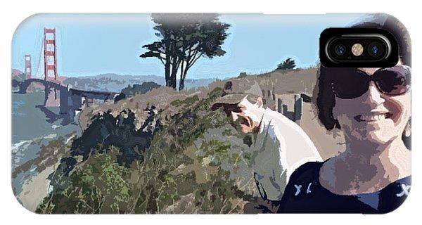 Selfie In San Francisco IPhone Case