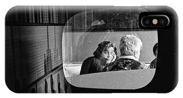 Pop Art iPhone Case - Selfportrait With Pop Lady  #people by Rafa Rivas