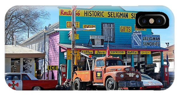 Seligman Sundries On Historic Route 66 IPhone Case
