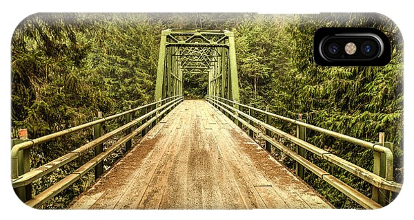 Selway River Bridge IPhone Case