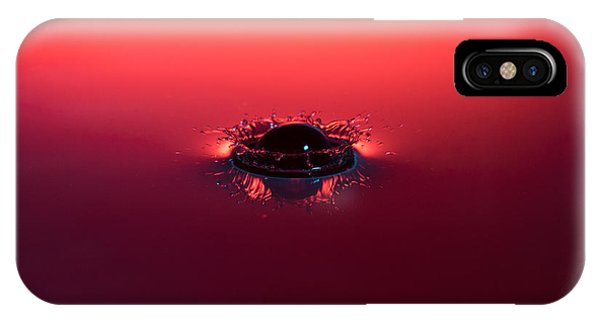 Semi Submerged Droplet IPhone Case