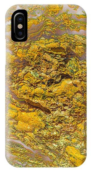 Semi Translucent Bark Abstract IPhone Case