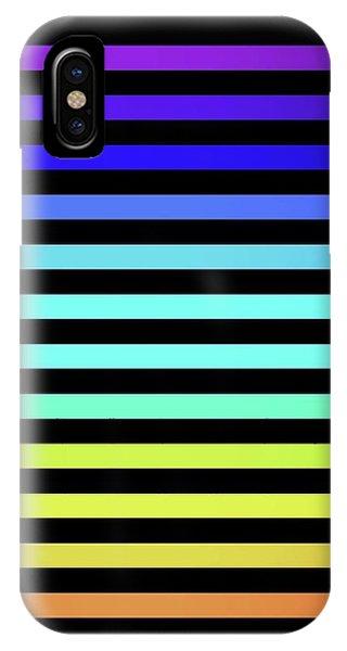 Semilinear 3 IPhone Case
