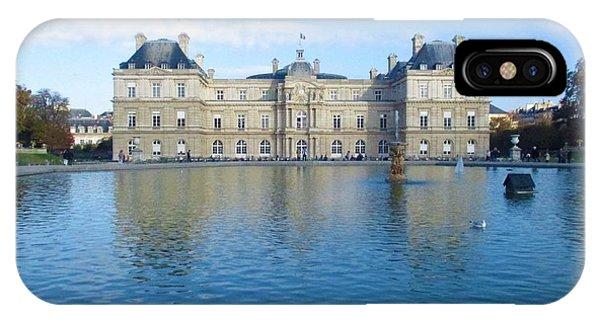 Senat From Jardin Du Luxembourg IPhone Case