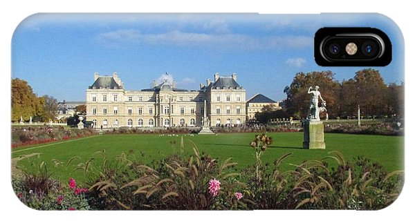 Senate From Jardin Du Luxembourg IPhone Case