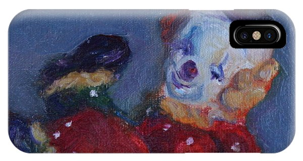 Send In The Clowns IPhone Case