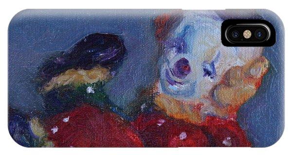 Send In The Clowns IPhone Case