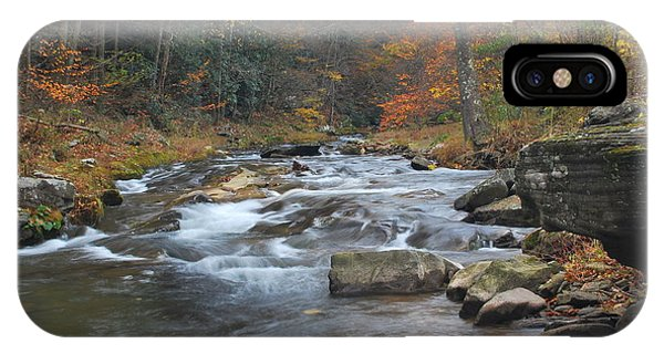 Seneca Creek Autumn IPhone Case