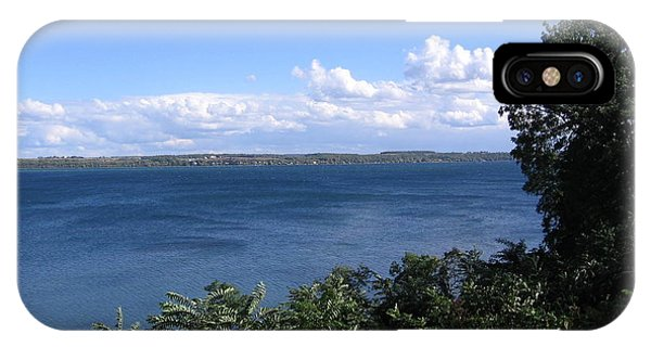 Seneca Lake Finger Lakes New York IPhone Case