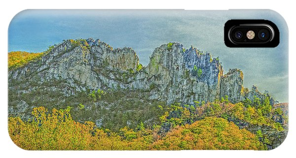 IPhone Case featuring the photograph Seneca Rock West Virginia by David Waldrop