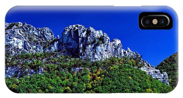 Seneca Rocks National Recreational Area IPhone Case