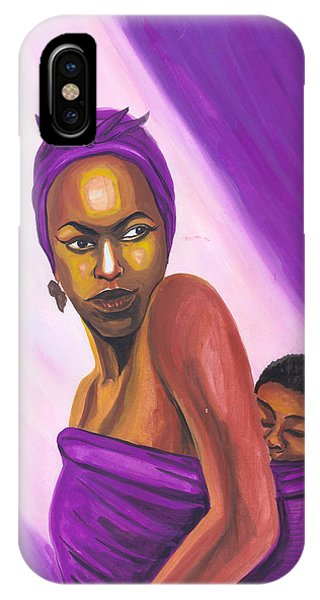 Senegalese Woman IPhone Case