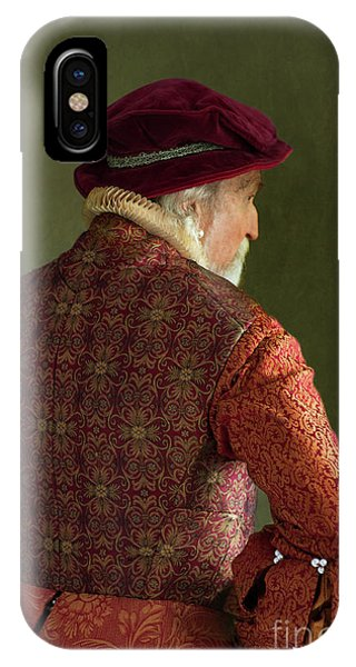 Senior Tudor Man IPhone Case