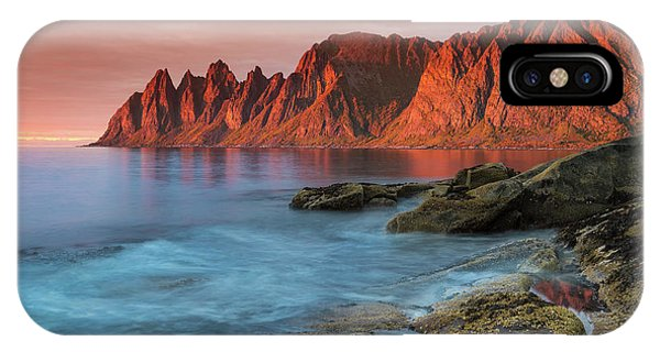 Senja Red IPhone Case
