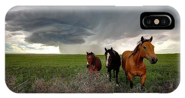 Sensing The Storm #3 IPhone Case