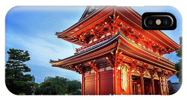 iPhone Case - Sensoji Temple by Jane Rix
