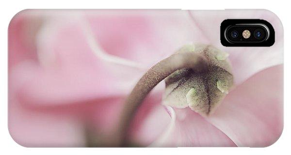 Sensuous Cyclamen IPhone Case