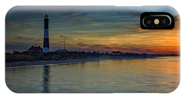 Navigation iPhone Case - Sentinel Of Great South Bay by Rick Berk