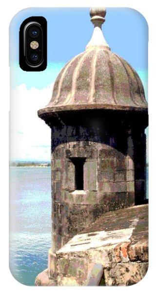 Sentry Box In El Morro IPhone Case