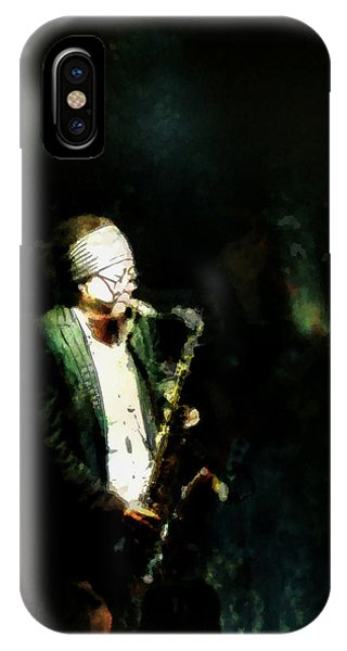 Seoul Saxman IPhone Case