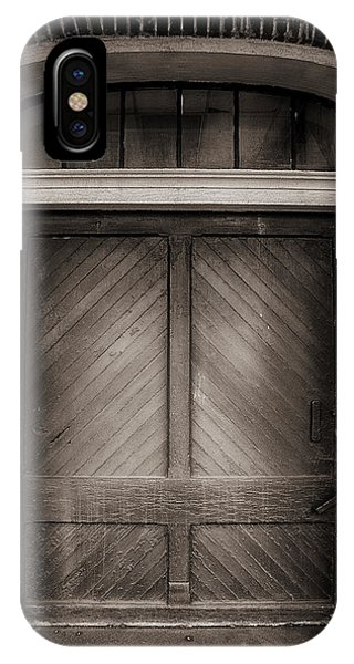 Sepia Doorway IPhone Case