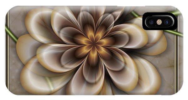 Sepia In Nature IPhone Case