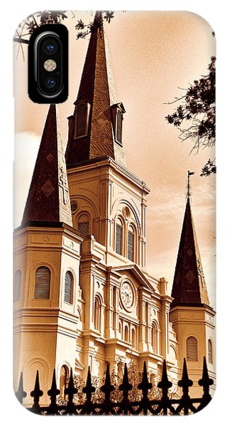 Sepia St. Louis Cathedral IPhone Case