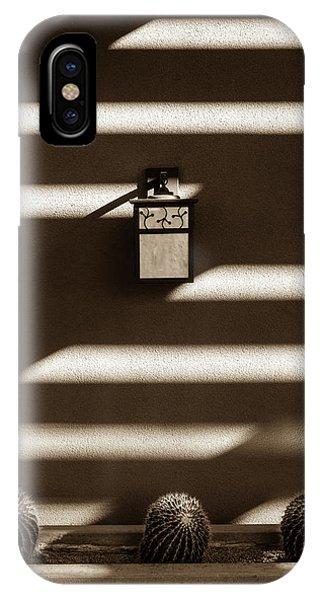 Sepia Stucco Shadows IPhone Case