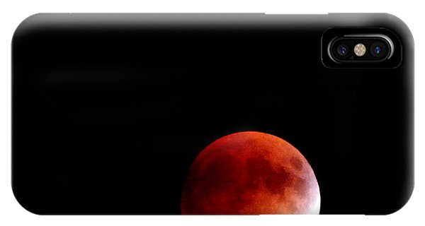 September Bloodmoon 2015 IPhone Case