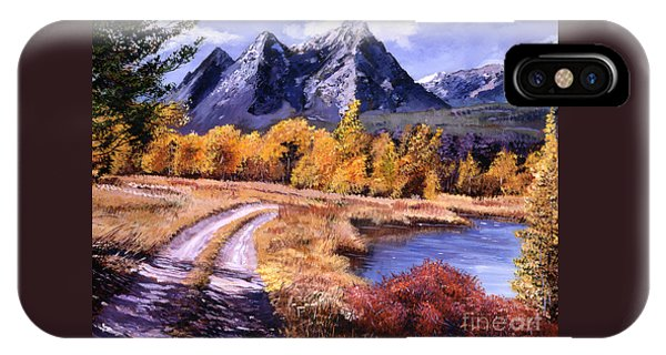September High Country Phone Case by David Lloyd Glover