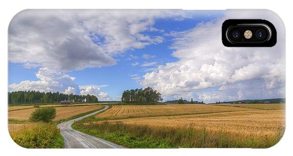 Salo iPhone Case - September In The Countryside by Veikko Suikkanen