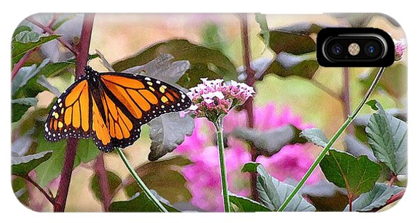 September Monarch IPhone Case