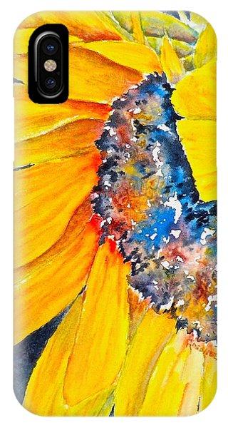 September Sunflower IPhone Case