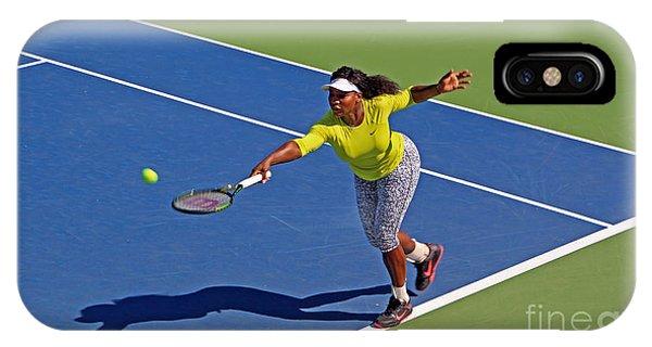 Serena Williams 1 IPhone Case