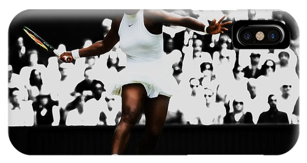 Venus Williams iPhone Case - Serena Williams 14p by Brian Reaves