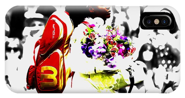 Venus Williams iPhone Case - Serena Williams 2f by Brian Reaves