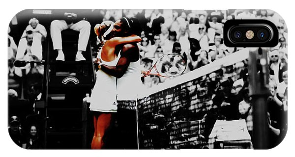 Venus Williams iPhone Case - Serena Williams And Angelique Kerber by Brian Reaves