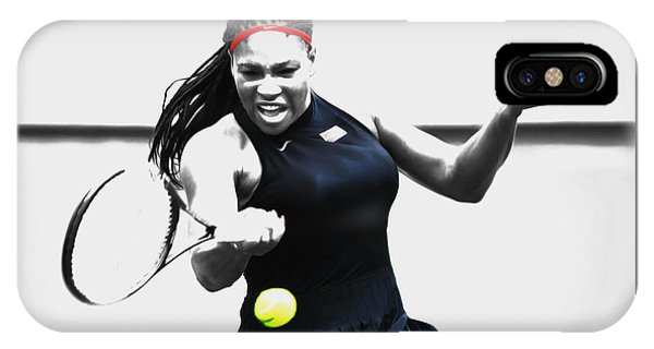 Serena Williams Stay Focused IPhone Case