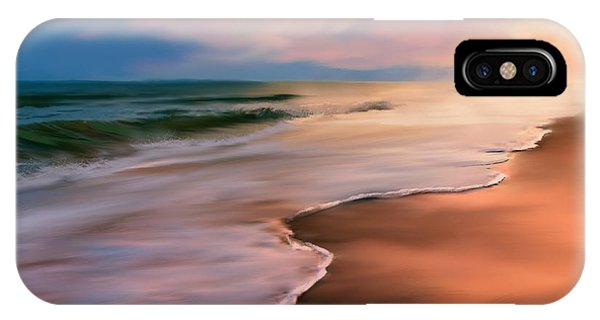 Serene Beach At Sunrise IPhone Case