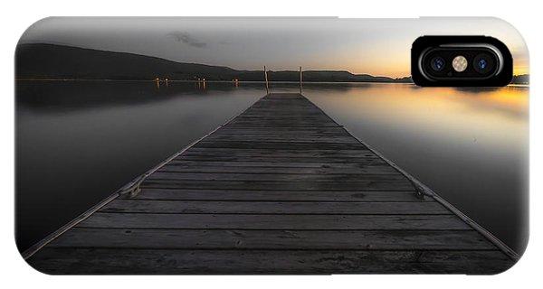 Serene Lake 2 IPhone Case