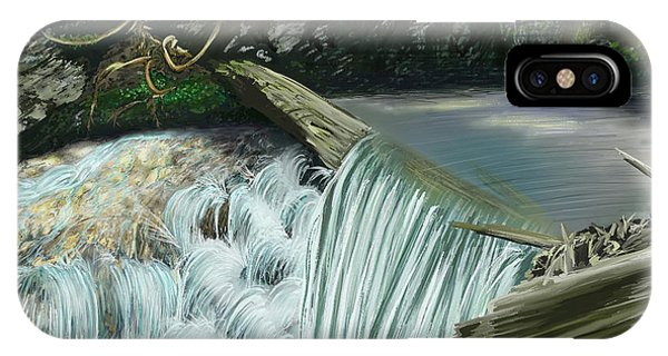 4th July iPhone Case - Serene Oasis Of Stagger Inn by Troy Stapek
