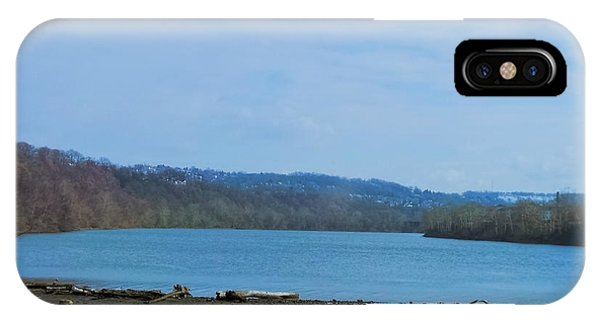 Serene River Landscape IPhone Case