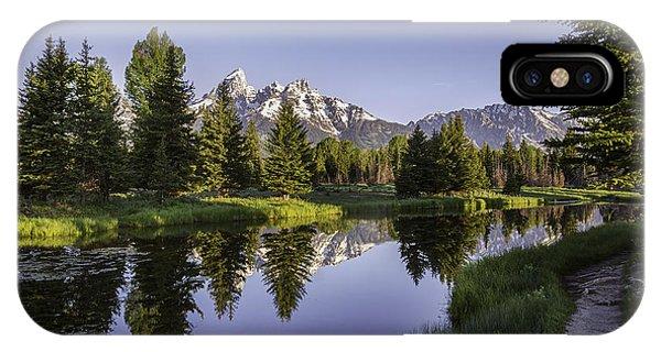 Serene Schwabachers IPhone Case