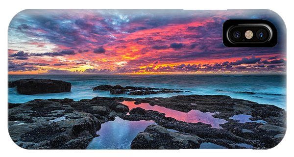 Reflection iPhone Case - Serene Sunset by Robert Bynum
