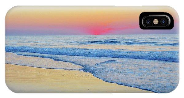 Serenity Beach Sunrise IPhone Case