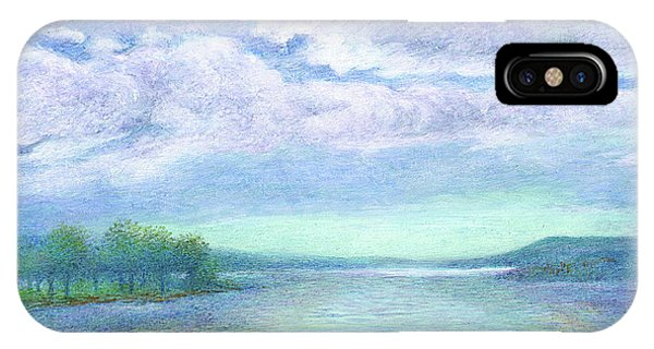 Serenity Blue Lake IPhone Case
