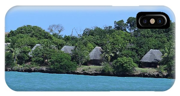 Exploramum iPhone Case - Serenity - Chale Island Kenya Africa by Exploramum Exploramum
