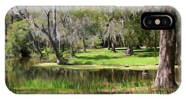 Serenity In Charleston IPhone Case
